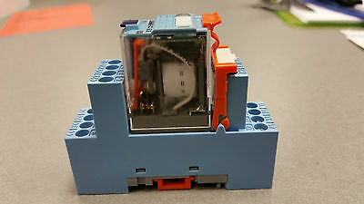 Releco S9-M Relay Socket and C9-R21 Relay (LOT OF 8 RELAYS AND 8 SOCKETS)