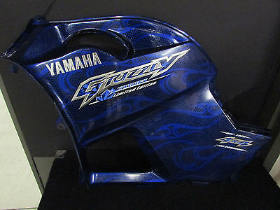 Grizzly 700 Left Side Cover 2009 Limited Edition Blue # 3B4-21711-H0 Oem Yamaha