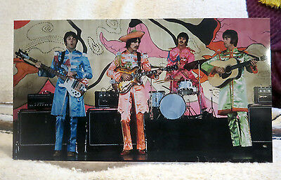 """The Beatles Sgt. Peppers Lonely Hearts Club Band Tabletop Standee 11"""" X 6"""""""