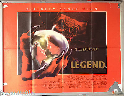 Cinema Poster: LEGEND 1985 (Quad) Tom Cruise Mia Sara Tim Curry Ridley Scott