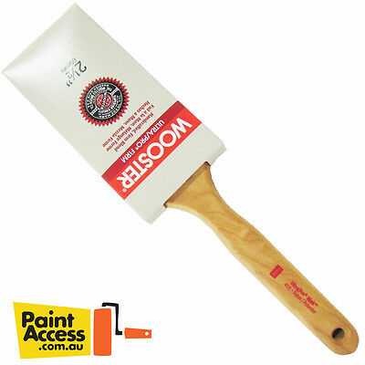 """Wooster Ultra/Pro Flat Sash FIRM """"Mink"""" (4175) paint brushes"""