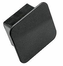 """Tow Ready Receiver Tube Cover 2"""" Square Black  1202"""
