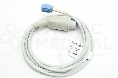 GE Datex-Ohmeda 10 Pin to OxyTip SpO2 8' Extension Cable New Yr Warranty