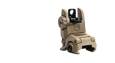 Magpul MBUS Gen2 Rear Black Flip / Pop Up Backup Sight MAG248-FDE BUIS FLAT Dark