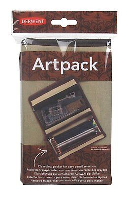 Derwent Canvas ARTPACK Pencil Case - Holds 24 Pencils