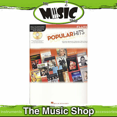 New Popular Hits for Flute - Book & CD