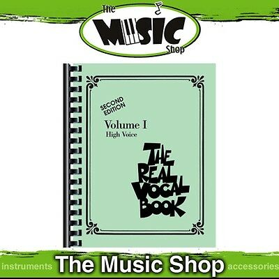 New The Real Vocal Book: Volume 1 for High Voice Music Book - Second Edition