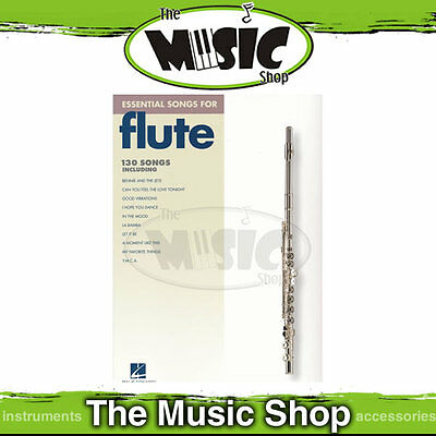 """New """"Essential Songs for Flute"""" Music Book - 130 Songs for Flute"""