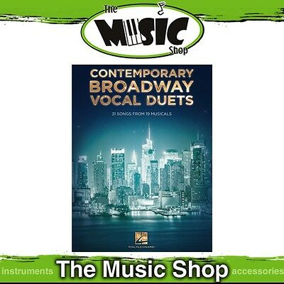 New Contemporary Broadway Vocal Duets Music Book - 31 Songs!