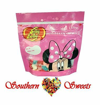 Jelly Belly Minnie Mouse 80G X 12Packets Disney Special Edition Lollies