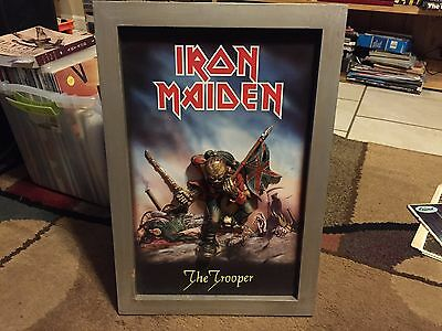 Iron Maiden The TROOPER Raised 3D Wall Hanging Display Sign