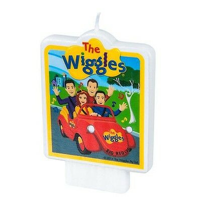 Party Supplies Birthday The Wiggles Candle