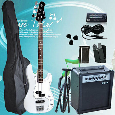 High quality Bass Guitar with 20W AMP Brand New
