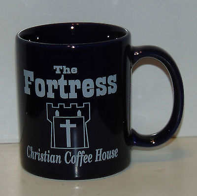 The Fortress Christian Coffee House mug Victory Ranch Ft Jackson Shaw AFB SC