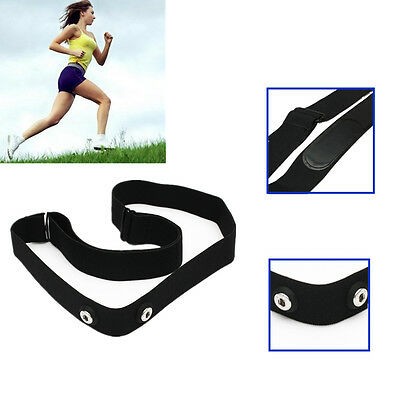 Comfortable Chest Belt Strap Band Adjustable for Sport All Heart Rate Monitor