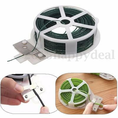 30M Roll Wire Twist Tie With Cutter For Order Cable Food Sealing Plant Fixing