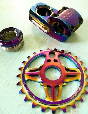 Colony Build Kit #2 Rainbow - Includes Brakes Detangler Stem Headset & Sprocket