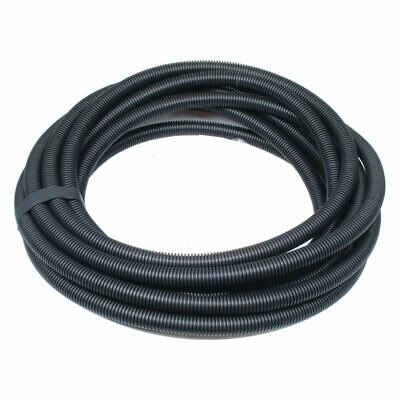 25mm Black Flexible Electrical Corrugated Polypropylene Conduit