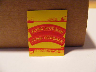KC072 hornby triang parts scotsman name plate E6C