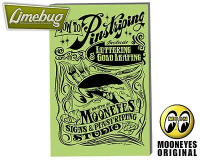 MOONEYES Moon How to Pinstripe Goldleafing B&W Booklet Softback Hotrod VW Buggy