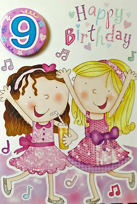 Birthday Cards For 9 Years Old Girl Good QualityDifferent Designs