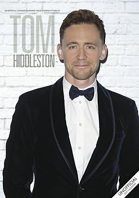 Tom Hiddleston 2017 Large Poster Wall Calendar New With Free Uk Postage !!