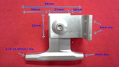 """aluminum 5/"""" width T-bar w// oil cup for 1//4/"""" cable rc boat 1000"""