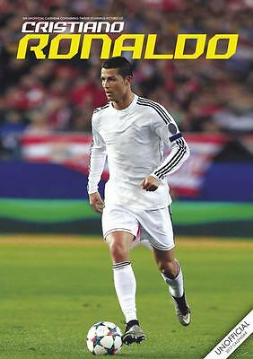 Cristiano Ronaldo 2017 Large Poster Wall Calendar New With Free Uk Postage !!
