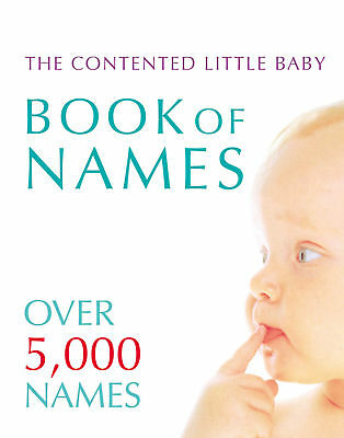 Gillian Delaforce - Contented Little Baby Book Of Names (Paperback)