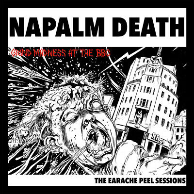 NAPALM DEATH - The Earache Peel Sessions  LP  SPLATTER