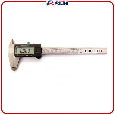 CALIBRO DIGITALE BORLETTI  CDJB15 DI PRECISIONE 150 mm