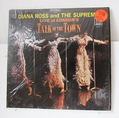 Diana Ross & The Supremes-Live At London's Talk Of The Town On Motown Soul L