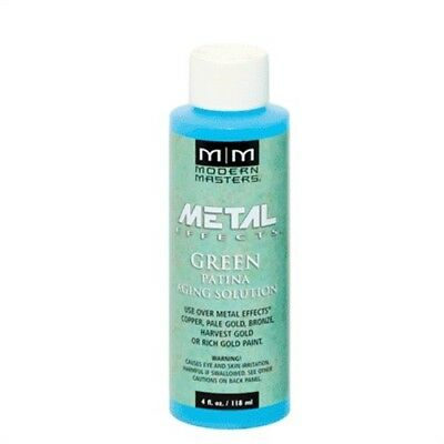 4OZ METAL EFFECTS GREEN PATINA AGING SOLUTION, Part No PA91-4