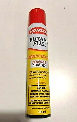 Genuine Ronson Butane 78 gram 2.75 oz. Lighter Fluid Premium Fuel NEW 1 can
