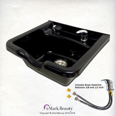 Extra Wide Shampoo Bowl ABS Plastic Salon Sink Beauty Salon Equip. TLC-B22 KSGT