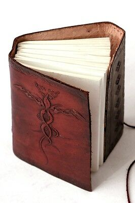 Handmade Leather Journal Dragon Diary Leather Bound Sketchbook Notebook Artist