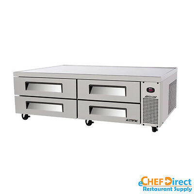 """Turbo Air TCBE-82SDR-N Super Deluxe 84"""" Four Drawer Chef Base"""