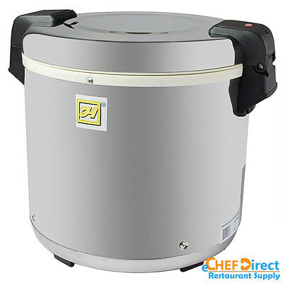 Commercial Tarhong 50 Cup Stainless Steel Electric Rice Warmer - Sej22000