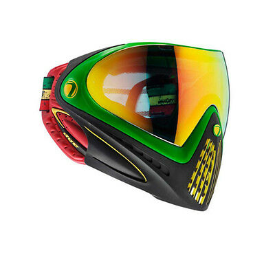 New Dye Invision I4 Thermal Paintball Goggles Mask - Rasta