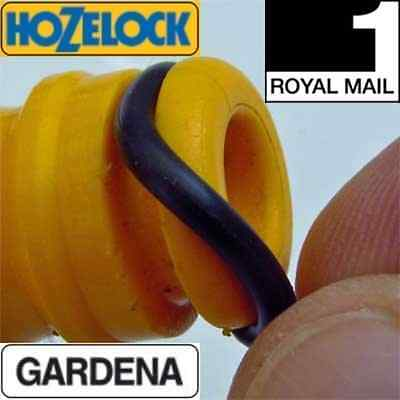 Hozelock Replacement Garden Hose Reel Nozzle Male Connector Rubber O-Ring Seals