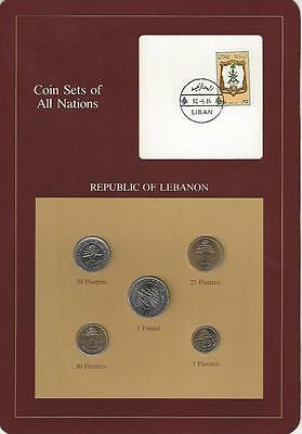 Coin Sets of All Nations - Lebanon