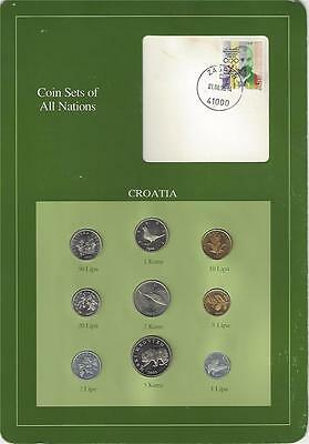 Coin Sets of All Nations - Croatia, scarce set