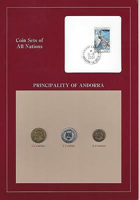 Coin Sets of All Nations -  Andorra, SCARCE