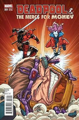 Deadpool & The Mercs for Money #1 Variant Cover by Ron Lim.
