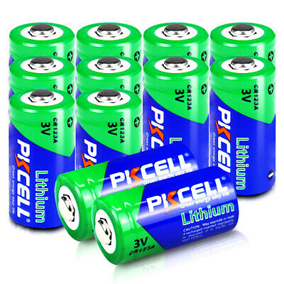 12x CR123A 3V 1500mAh Batteries CR17345 5018LC K123 For Netgear Arlo Camera