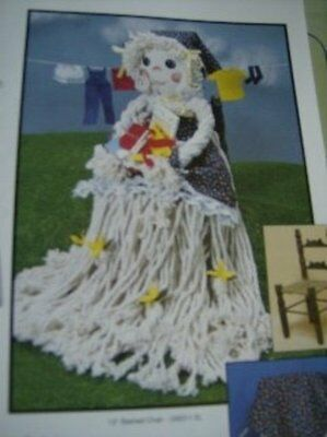 Moppin' Time Craft Book With 6 Doll Patterns Made From Mop Heads