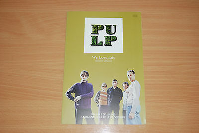 Pulp - Rare French Promo Gatefold Card For 'we Love Life' Lp