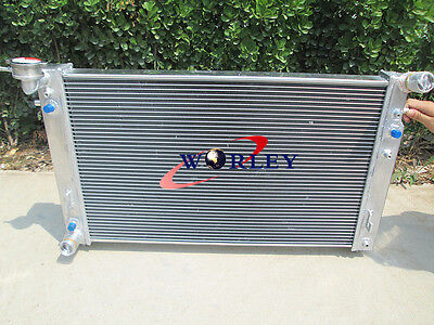 3 Row Aluminum Radiator for HOLDEN COMMODORE VT VX V6 3.8L PETROL 97-02 98 99 00