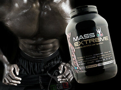 Net Integratori POST-WORKOUT MASS EXTREME - 1500g gusto Cioccolato Bianco