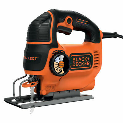 Black&Decker seghetto alternativo 550W autoselect azione pendolare KS801SE